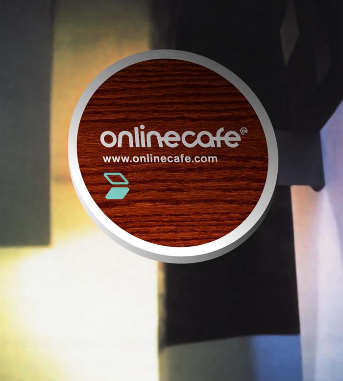 onlinecafe skilt